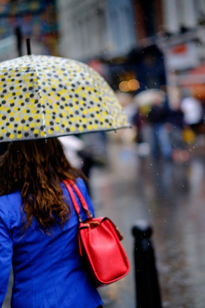 Esernyős kép bejegyzésbe