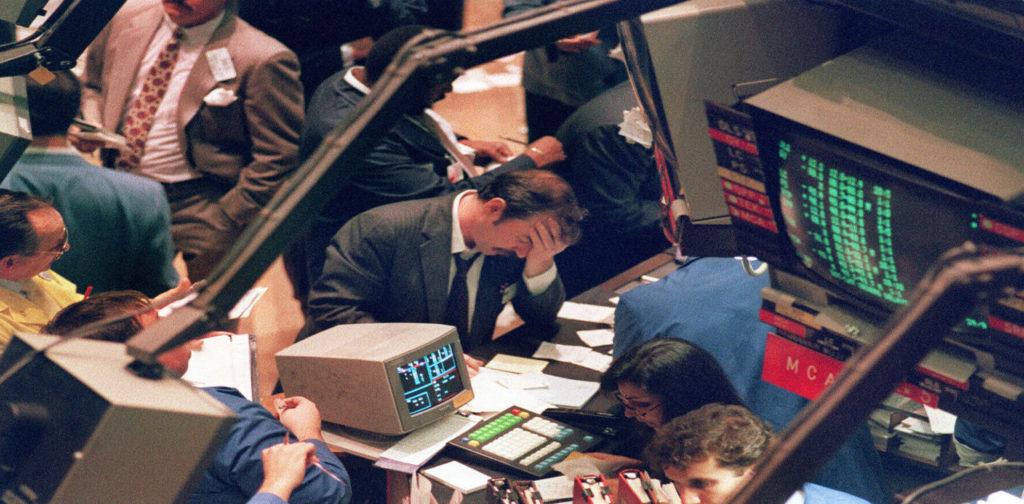 Fekete hétfő a Wall Street-en kép bejegyzésbe