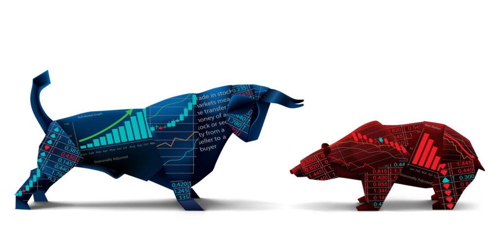 Bika- és medve piac kép behegyzésbe