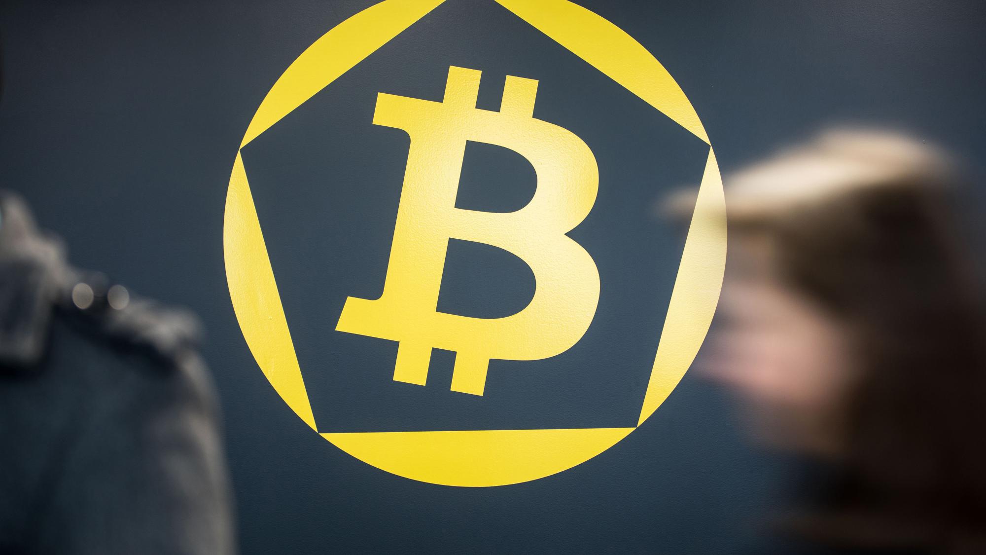 Bitcoin logóról kép bejegyzésbe