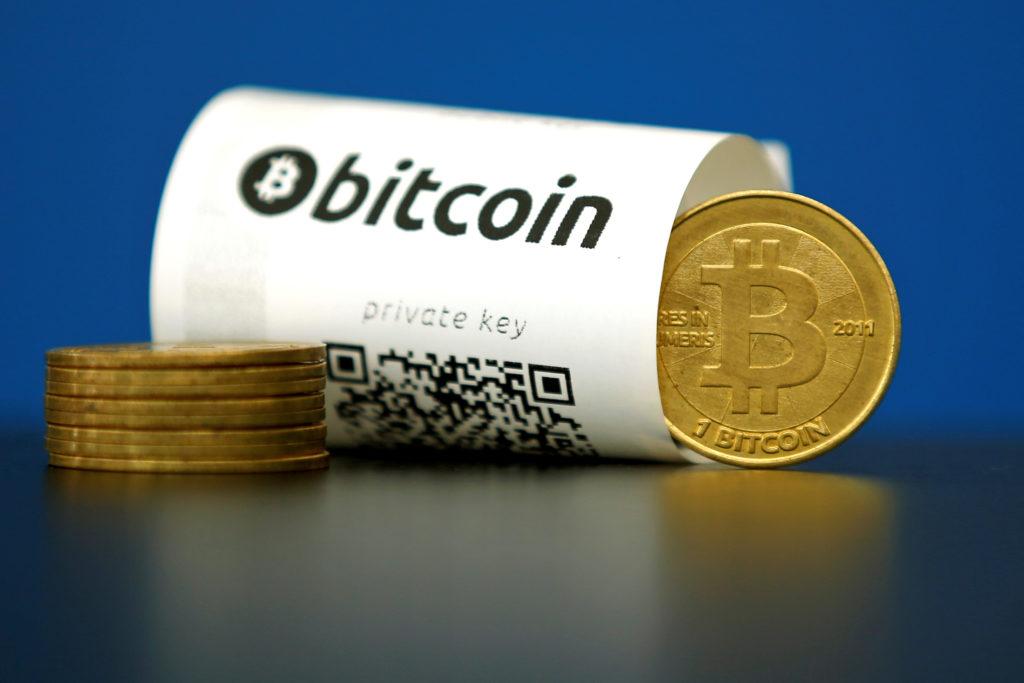 Bitcoin érmék váltás után kép bejegyzésbe