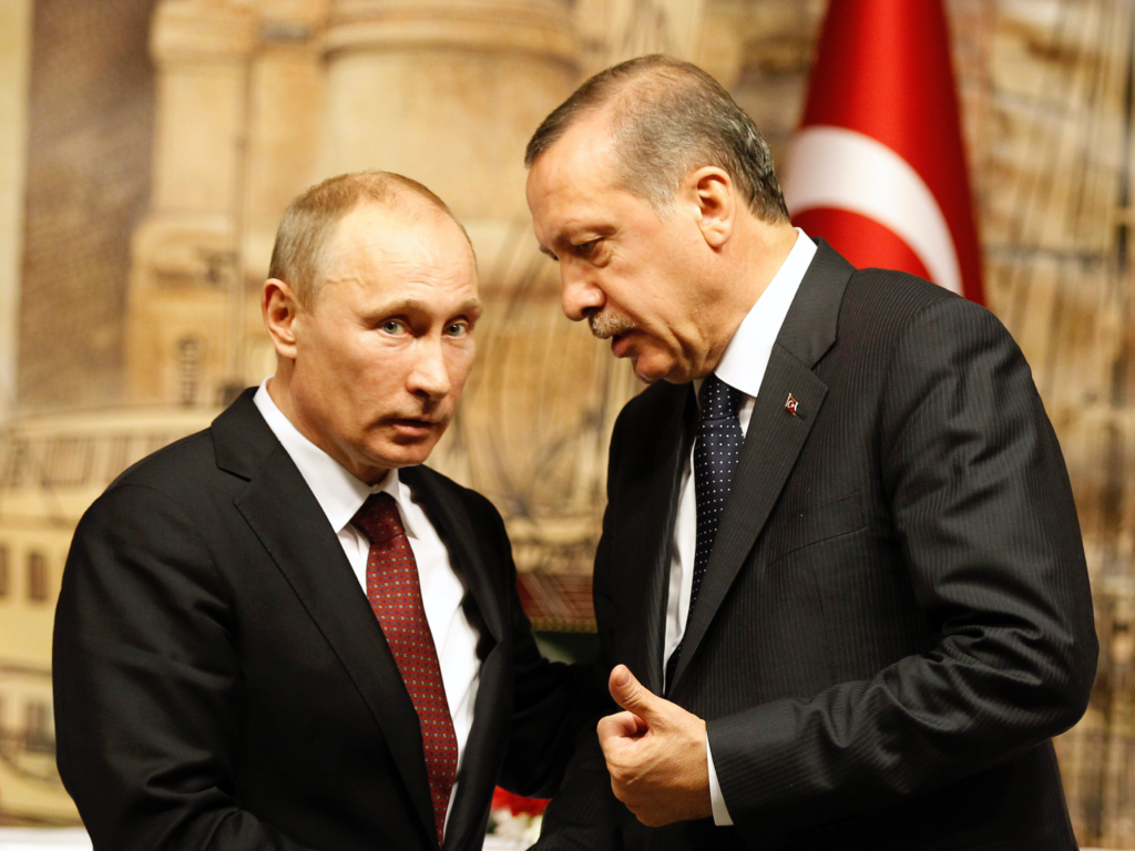 Török és orosz elnök kép bejegyzésbe