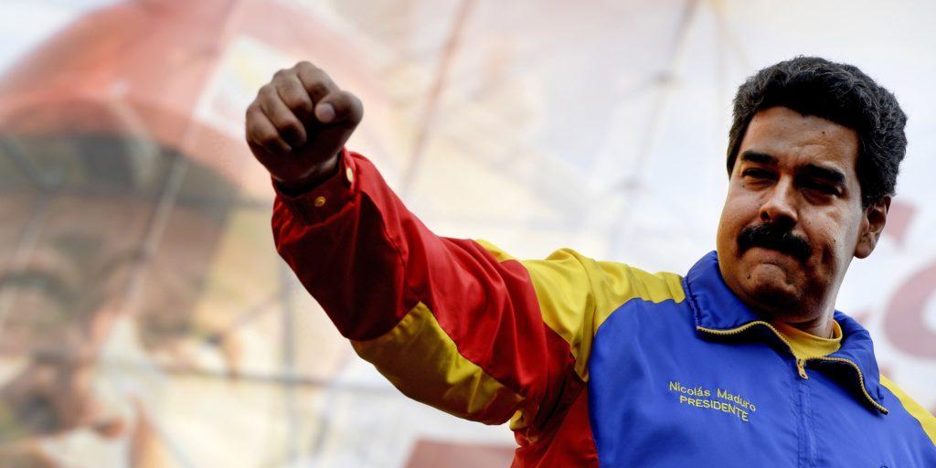 Kép a venezuelai elnökről bejegyzésbe