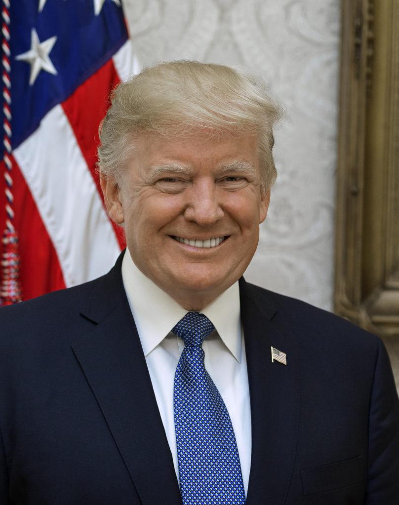 Trump kép bejegyzésbe