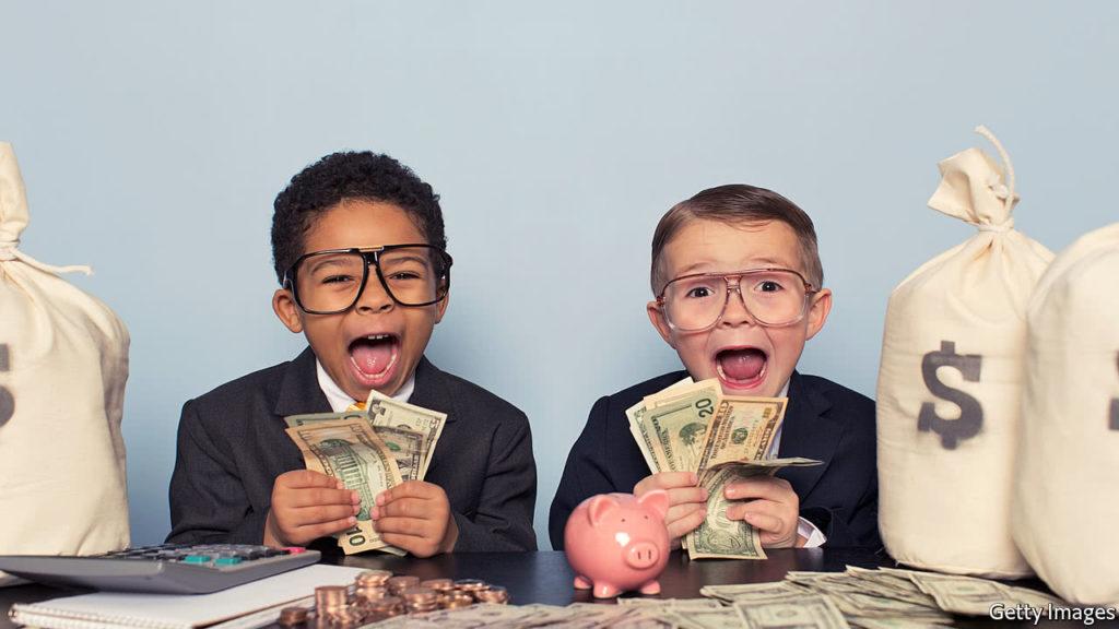 Kép fiatal pénzügy zsenikről bejegyzésbe